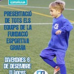 Presentació dels equips de la Fundació Esportiva Grama