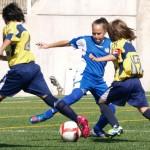 L'Aleví Benjamí Prebenjamí Femení Fundacio Grama de Santa Coloma perd per remuntada del Seagull a Les Oliveres (4-5)