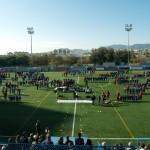 Los 39 equipos FEGrama saltan sobre el Nou Municipal de Santa Coloma