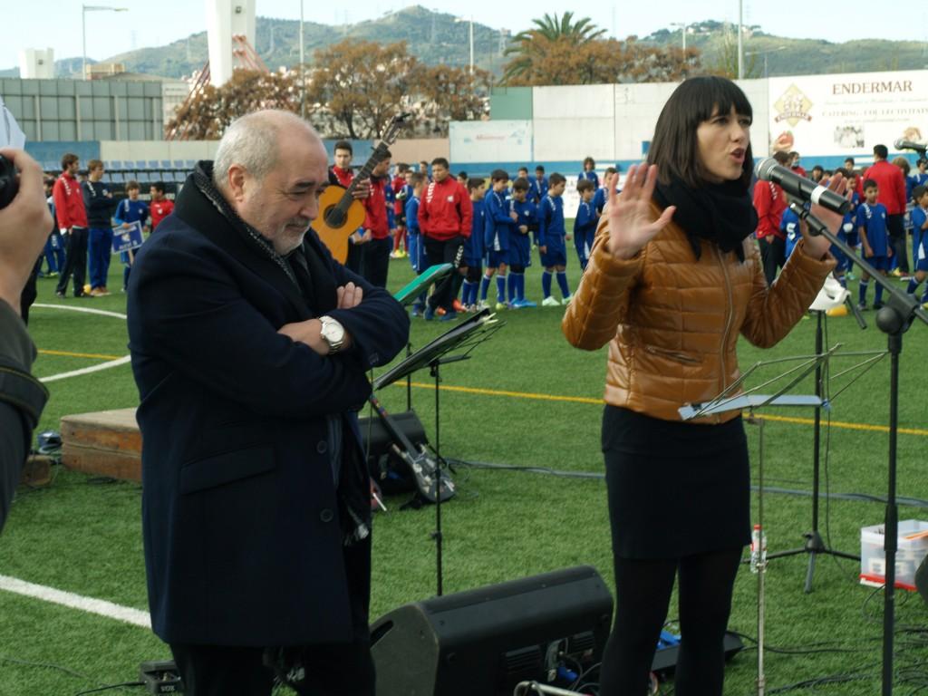 La alcaldesa de Santa Coloma, Núria Parlon, habló de la vital labor integrativa de la Fundació Grama