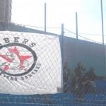 Per primera vegada els IBERS (Supporters Santako) van estar a la grada animant tot el partit a la FE Grama.