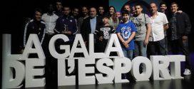 La Grama va rebre dos premis a la Gala de l'Esport Colomenc 2018