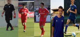 Molts juvenils al primer equip