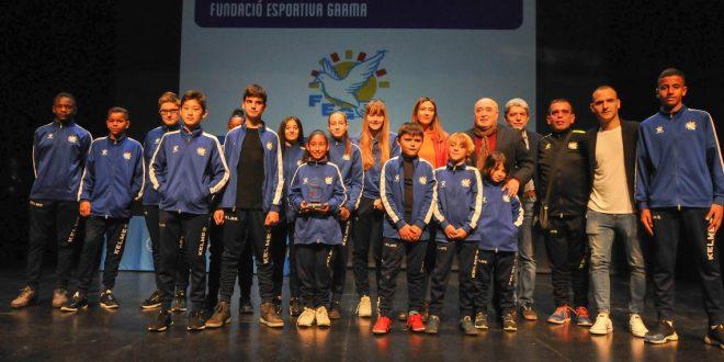 Gala de l'Esport colomenc, som l'Entitat Esportiva de l'any.